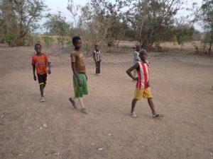Kids playing soccer   BARAKA