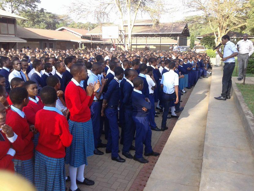 Edmund rice Foundation | Student assembly